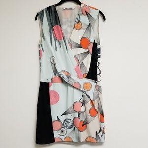 Diane Von Furstenberg Printed Shift Dress